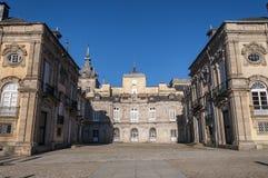 Kunglig slott av La Granja de San Ildefonso Arkivbild