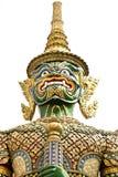 Kunglig slott Bangkok Thailand för jätte eller Yaksha Arkivfoto