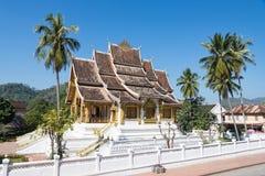 Kunglig slott för Luang prabang Arkivfoto
