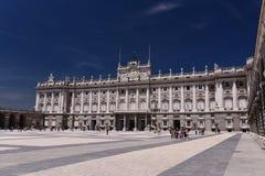 Kunglig slott för Spanien ` s arkivbild
