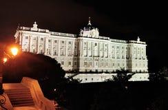Kunglig slott, Madrid Arkivbilder