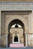 Kunglig slott Rabat, Marocco Fotografering för Bildbyråer