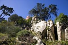 Kunglig sommar för tillflykt den Presidence för landskap för Pena slottPortugal slott turismen Europa Royaltyfri Bild