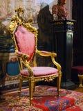 Kunglig stol Royaltyfri Fotografi