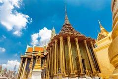 Kunglig storslagen konung Palace i Bangkok, Thailand Arkivbilder