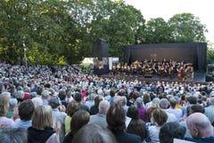 Kunglig svensk orkester Stockholm royaltyfri foto