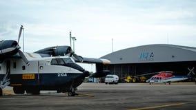 Kunglig thai marin för Cl-215 Scooper Royaltyfria Bilder