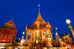 Kunglig thailändsk crematory Arkivfoto
