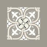 Kunglig traditionell mosaik Arkivfoto