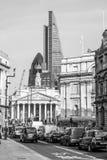 Kunglig utbytesbyggnad i London - LONDON - STORBRITANNIEN - SEPTEMBER 19, 2016 Fotografering för Bildbyråer