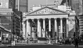 Kunglig utbytesbyggnad i London - LONDON - STORBRITANNIEN - SEPTEMBER 19, 2016 Royaltyfri Foto