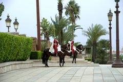 Kunglig vakt Morocco Arkivbilder