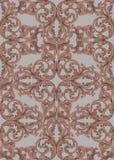 Kunglig victorianmodellprydnad Rika barocka bakgrunder för vektor bronser stock illustrationer