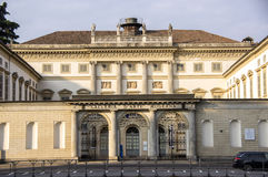 Kunglig villa av Milan, Italien royaltyfria foton