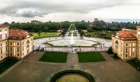 Kunglig villa, Monza, Italien Arkivfoton
