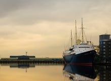 kunglig yacht för britannia Royaltyfri Bild