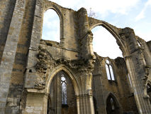 Kungliga Abbey Notre-Dame du Lys france Arkivbilder