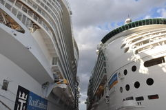 Kungliga Caribbeans tjusning av haven & sjömannen av haven Royaltyfria Bilder
