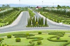 Kungliga Flora Park, Thailand. Arkivbilder
