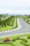 Kungliga Flora Park, Thailand. Royaltyfria Foton