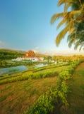 Kungliga Flora Ratchaphruek Park, Chiang Mai, Thailand Arkivbild