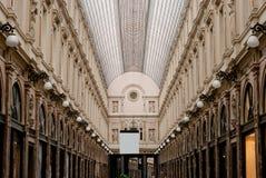 Kungliga gallerier brussels Fotografering för Bildbyråer
