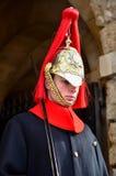Kungliga hästvakter London England Arkivfoto