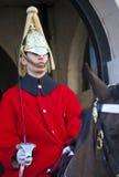 Kungliga Horseguard i London Arkivfoton