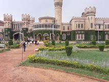 Kungliga palacae Bangalore Indien royaltyfria foton