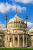 Kungliga paviljonger av Brighton England Arkivbild
