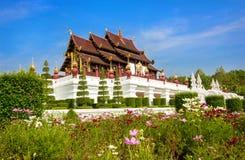 Kungliga personen parkerar Rajapruek i Chiang Mai Royaltyfria Foton