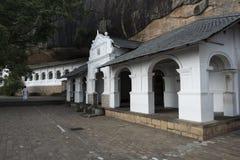 Kungliga personen vaggar templet, Dambulla, Sri Lanka Royaltyfri Foto