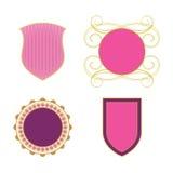 kungliga symboler Arkivfoto