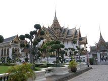 Kungliga tempelträdgårdar, Bangkok, Thailand Royaltyfri Fotografi