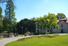 Kungliga trädgårdar Prague Royaltyfria Foton