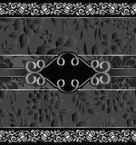 Kungligt blom- anmärkningsbokomslag royaltyfri illustrationer