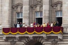 kungligt bröllop Arkivfoton