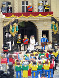kungligt bröllop för lego Royaltyfri Bild