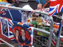kungligt bröllop för picknick Arkivfoto