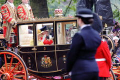 kungligt bröllop för 2011 drottning Royaltyfria Bilder