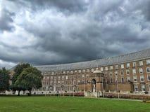 Kungligt halvmånformig, Bristol fotografering för bildbyråer