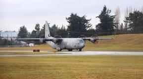 601 kungligt kanadensiskt flygvapen Hercules Royaltyfri Fotografi