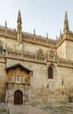 Kungligt kapell av Granada, Spanien Arkivbild