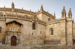 Kungligt kapell av Granada, Spanien Arkivfoton
