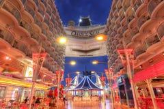 Kungligt karibiskt, oas av haven Royaltyfria Bilder