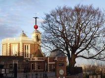 Kungligt observatorium av greenwich Arkivfoto