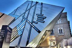 Kungligt Ontario museum Fotografering för Bildbyråer