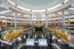 Kungligt regaliermuseum, Brunei Arkivbild