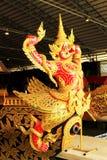 Kungligt rusa in det nationella museet av kungliga pråm, Bangkok, Thailand arkivbilder