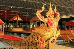 Kungligt rusa in det nationella museet av kungliga pråm, Bangkok, Thailand royaltyfri foto